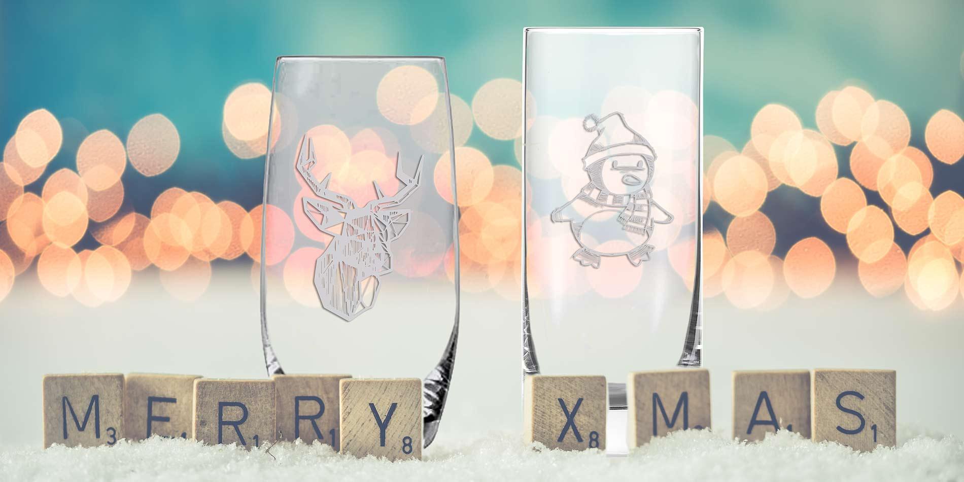 Gläser originell gestalten und per Gravur bedrucken